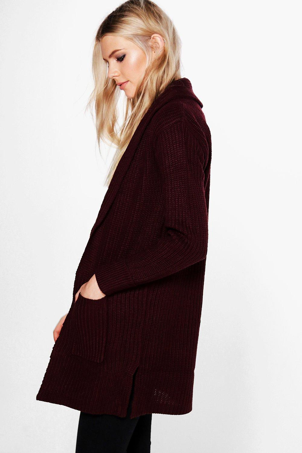 More Details Vince Cropped Shawl-Collar Cardigan Details Vince ribbed-knit cardigan with pockets. Approx. length: 22