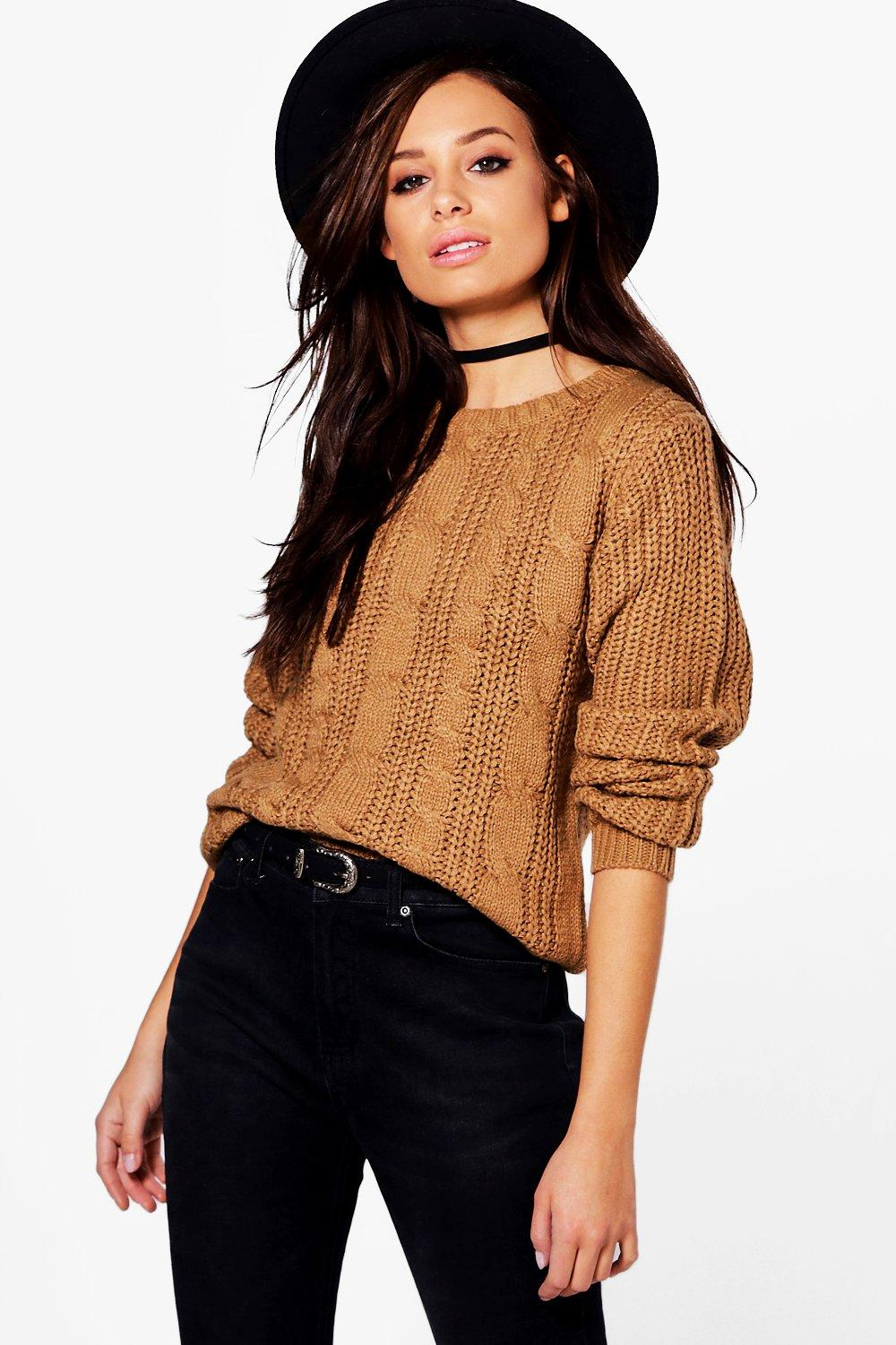 Charlotte Chunky Cable Jumper