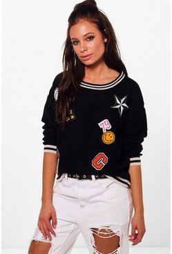 Maisie Badge Jumper