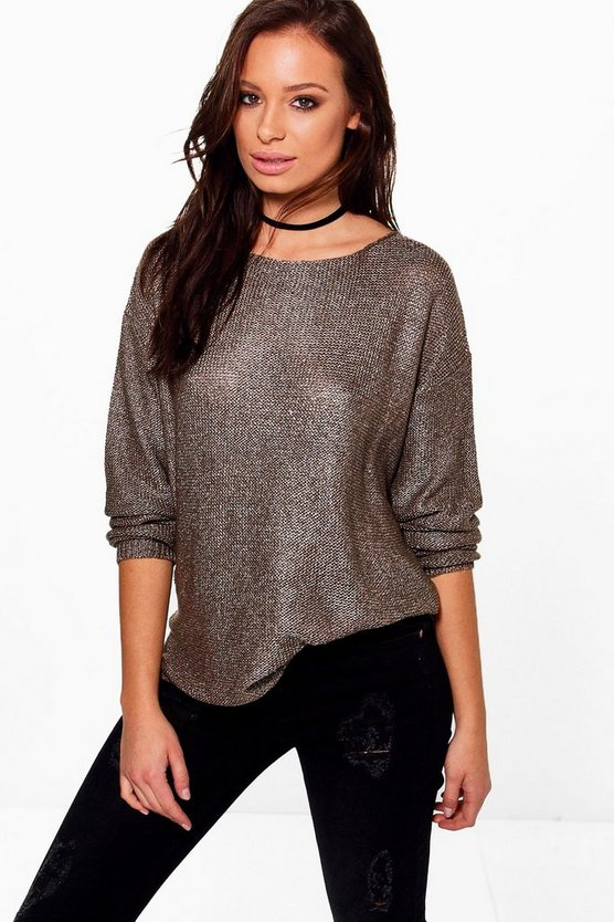 Erin Metallic Jumper