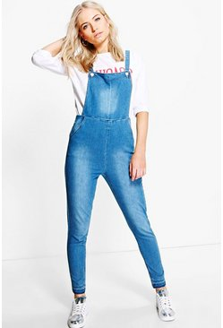Sophia Slim Fit Denim Dungaree