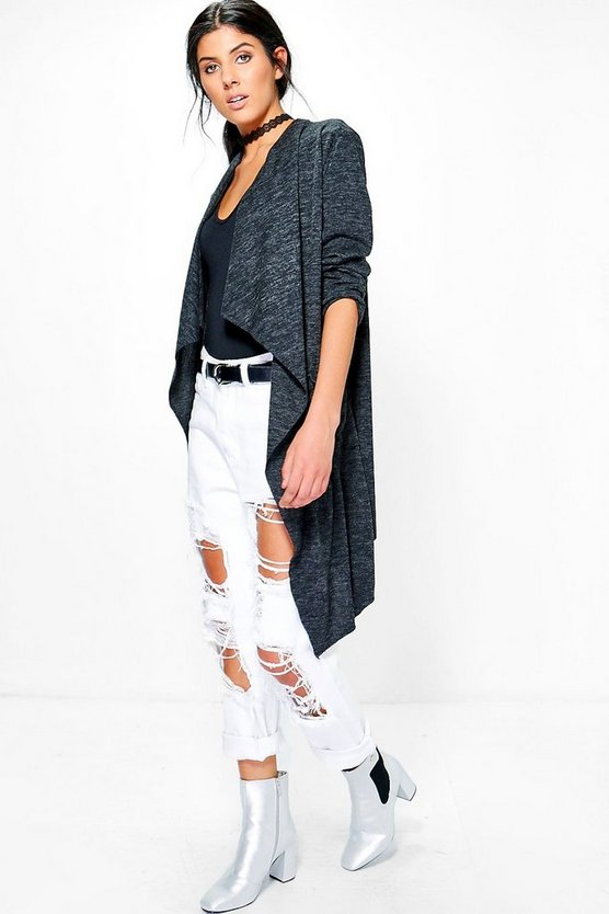 Imogen Waterfall Soft Knit Cardigan