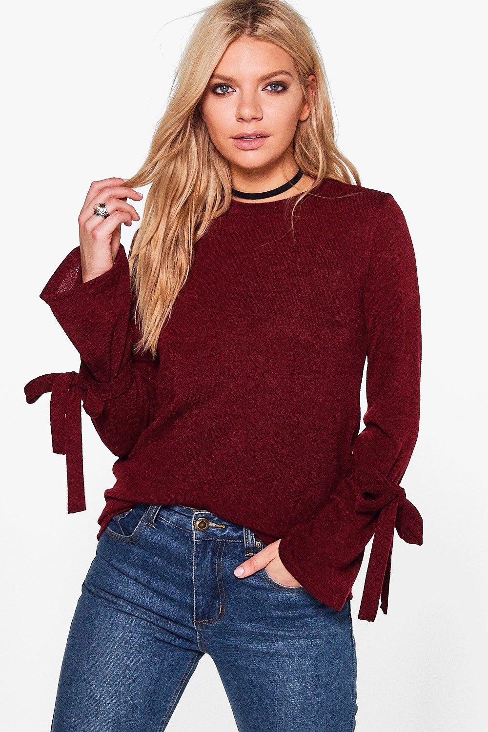 Madison Tie Sleeve Top
