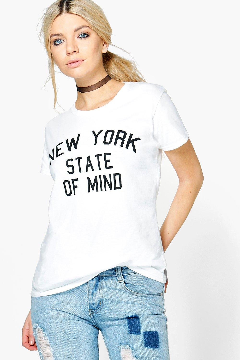 Yemi New York Slogan Tee