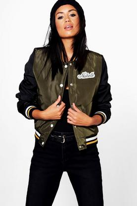Willow Baseball Bomber Jacket