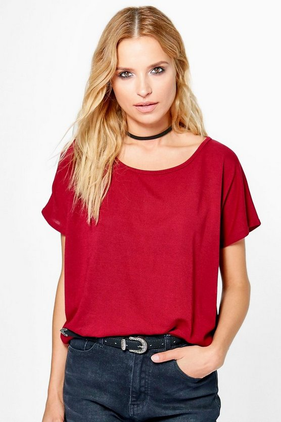Darcy Fine Knit T-Shirt