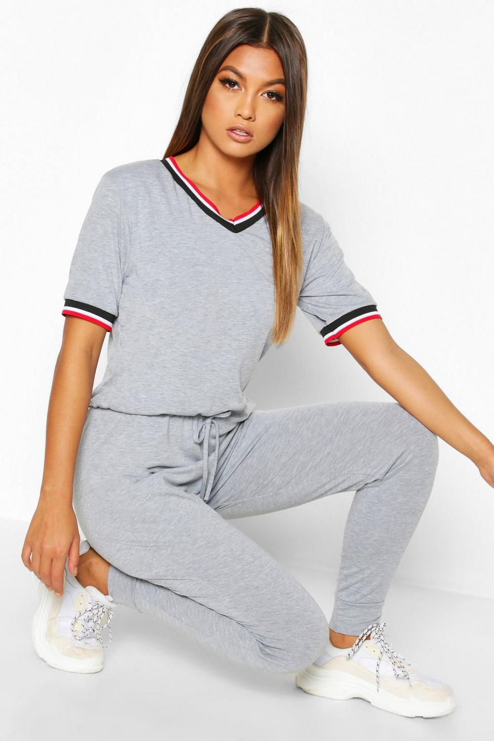 Mona Sports Trim Jumpsuit