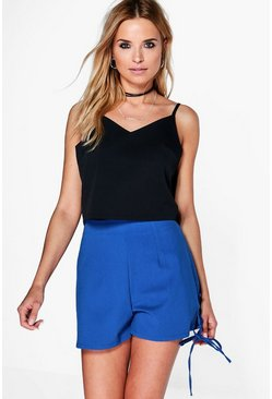 Ria Tie Side High Waist Shorts