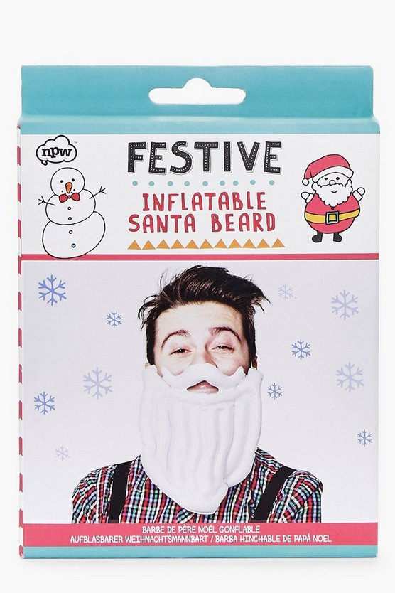 Christmas Inflatable Santa Beard