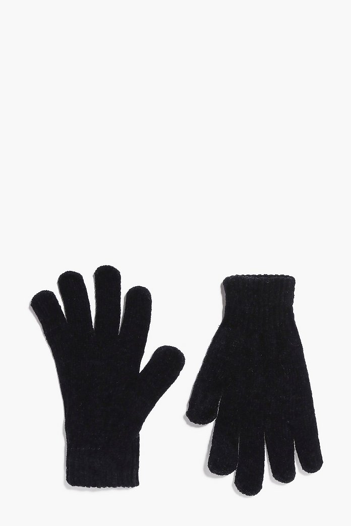 Gracie Supersoft Chenille Magic Gloves
