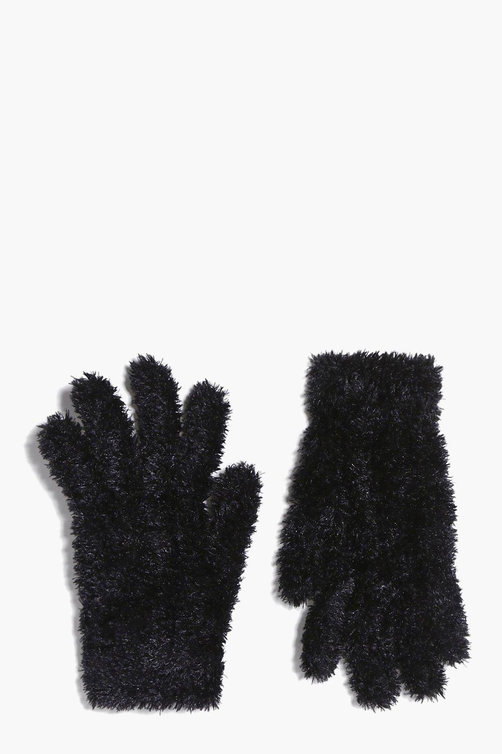 Amber Supersoft Fluffy Magic Gloves
