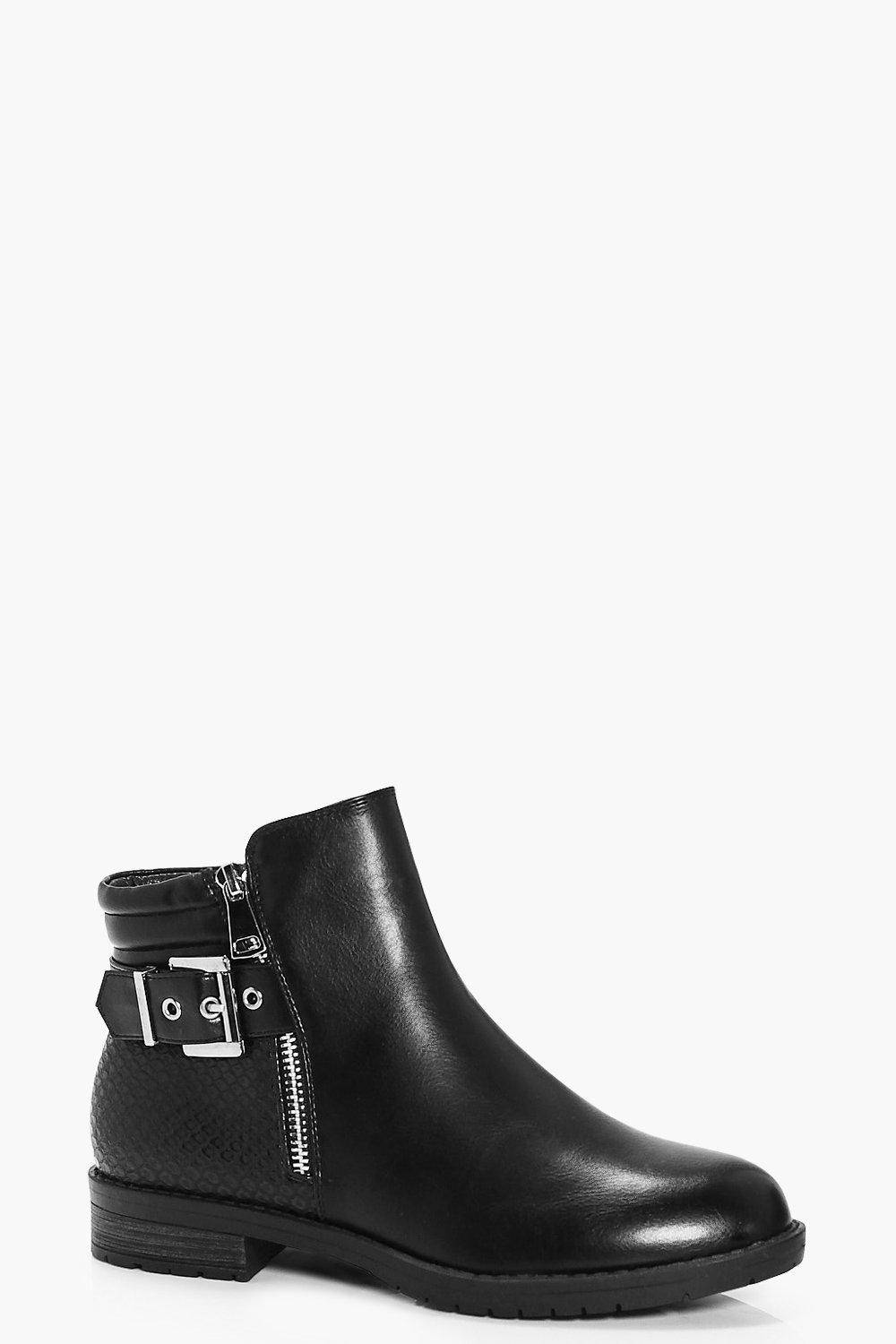 Willow Buckle Trim Chelsea Boot