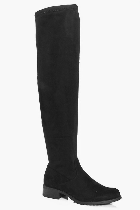 Skye Flat Over The Knee Boot