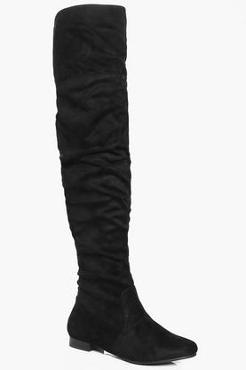 Rebecca Rouch Detail Over The Knee Boot