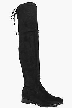 Zoe Flat Over The Knee Boot