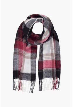 Harriet Tartan Check Scarf