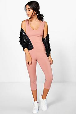 Molly Ribbed Jumpsuit