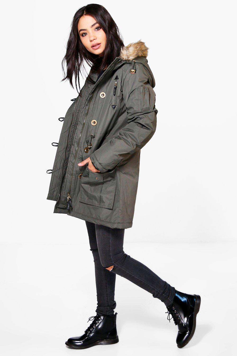 Emily Padded Hooded Parka
