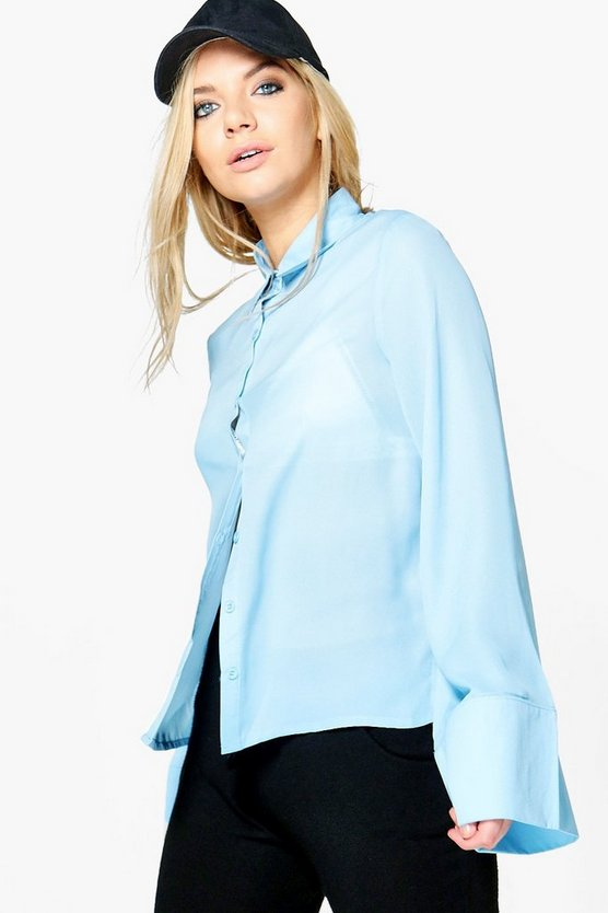 Hannah Wide Sleeve Shirt