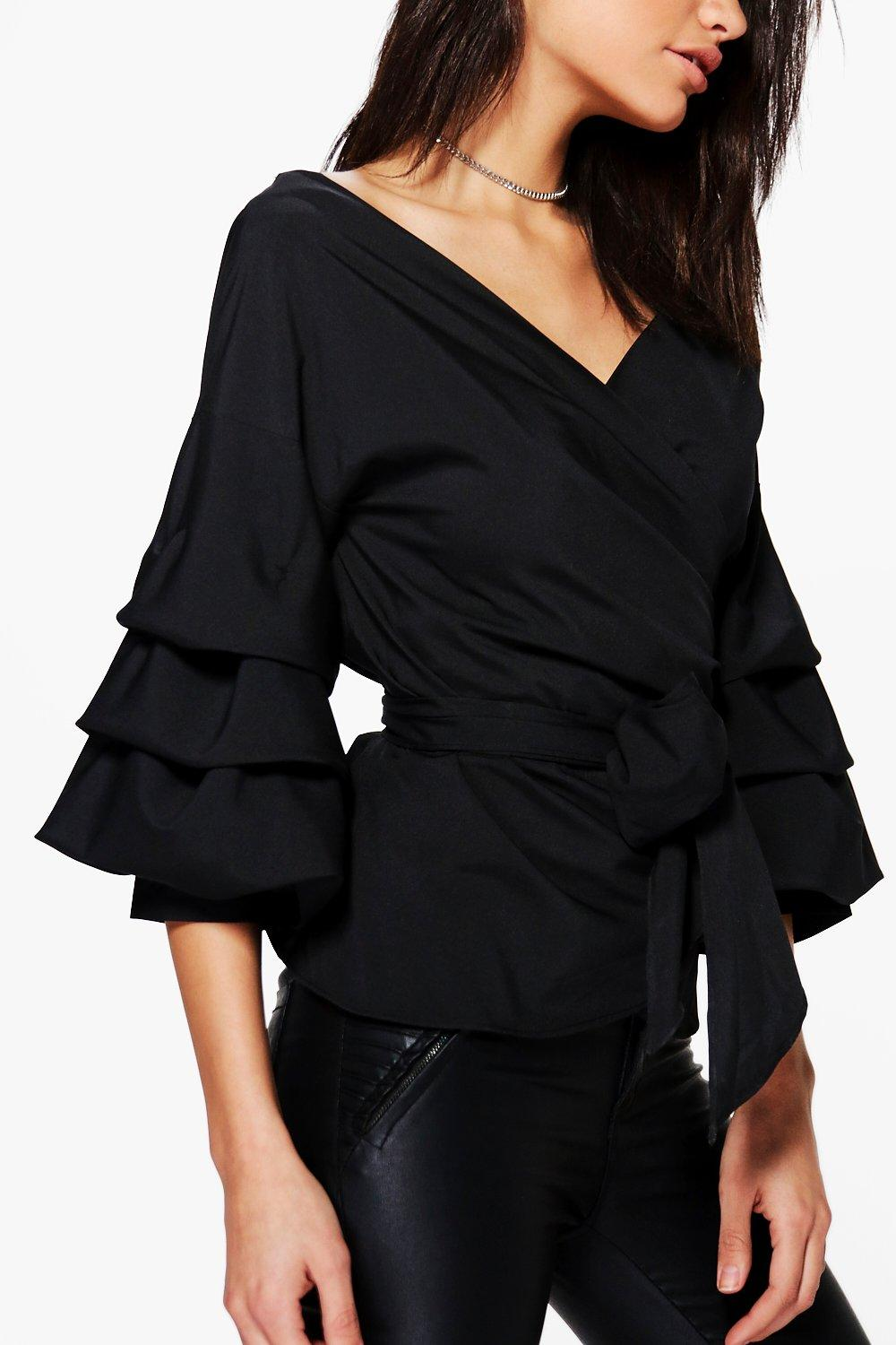 Ruched Blouses