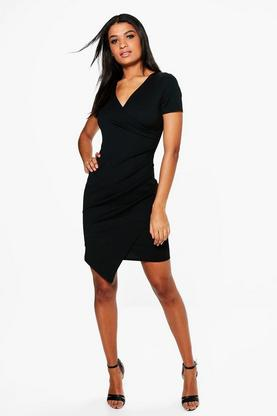 Isabelle Ruched Side Tailored Dress