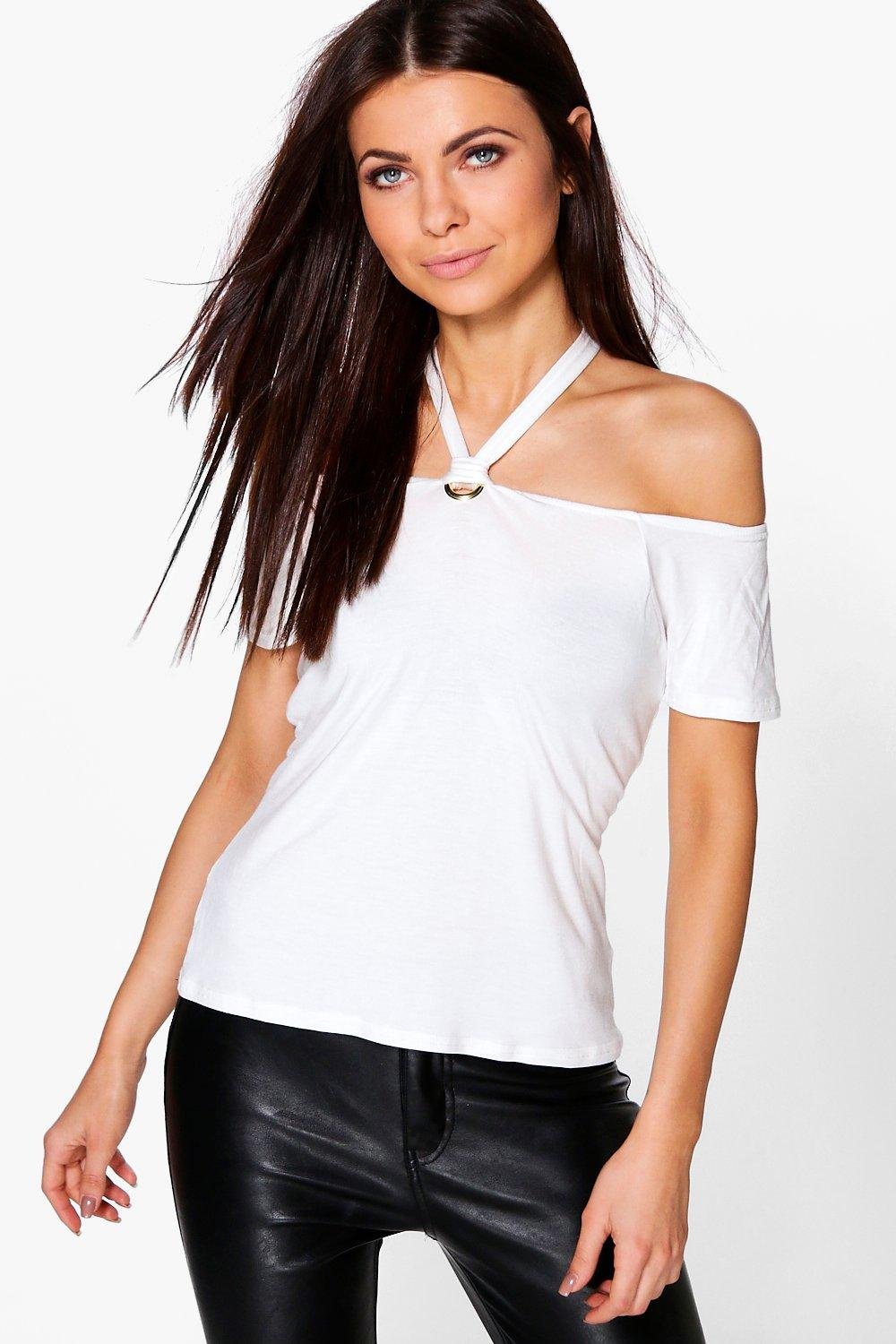 Mimi Off The Shoulder D Ring Top