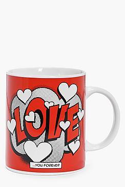 Love Slogan Mug