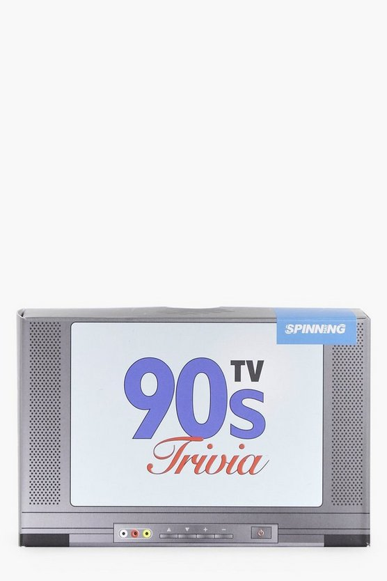 90's TV Trivia Card Game