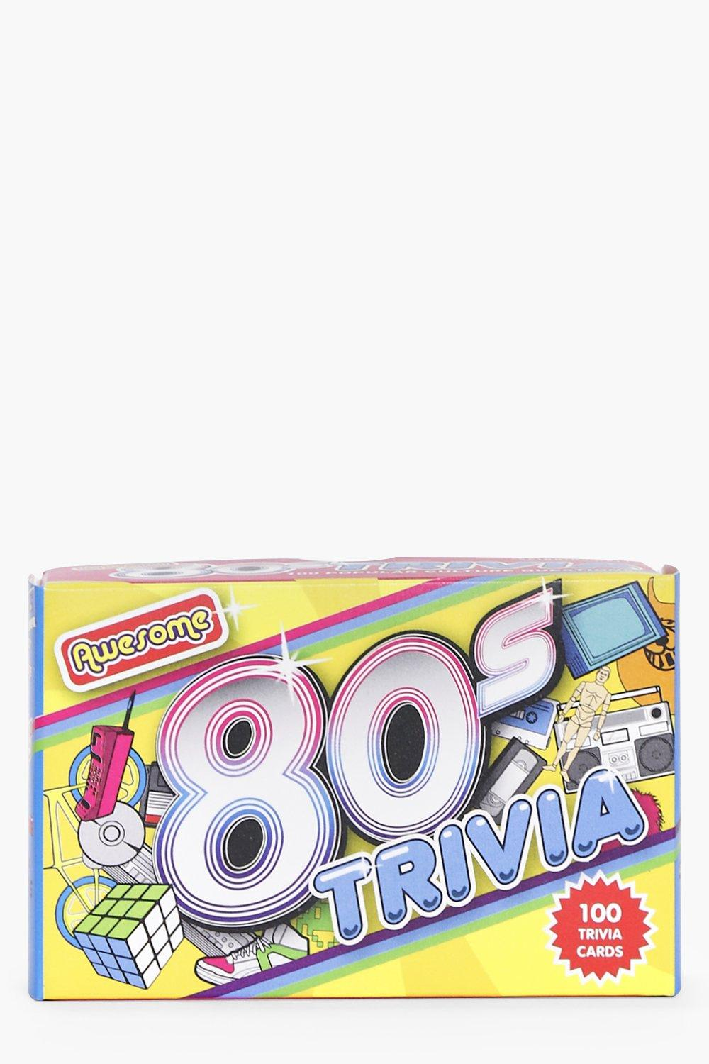 80's Trivia Card Game