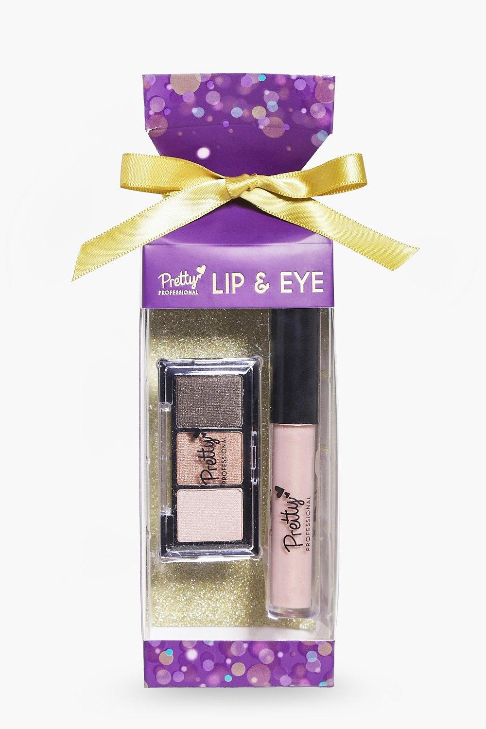 Christmas Cracker Eyeshadow & Lipgloss Set