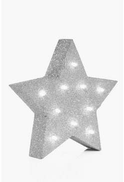 Gold & Silver Star Light Box