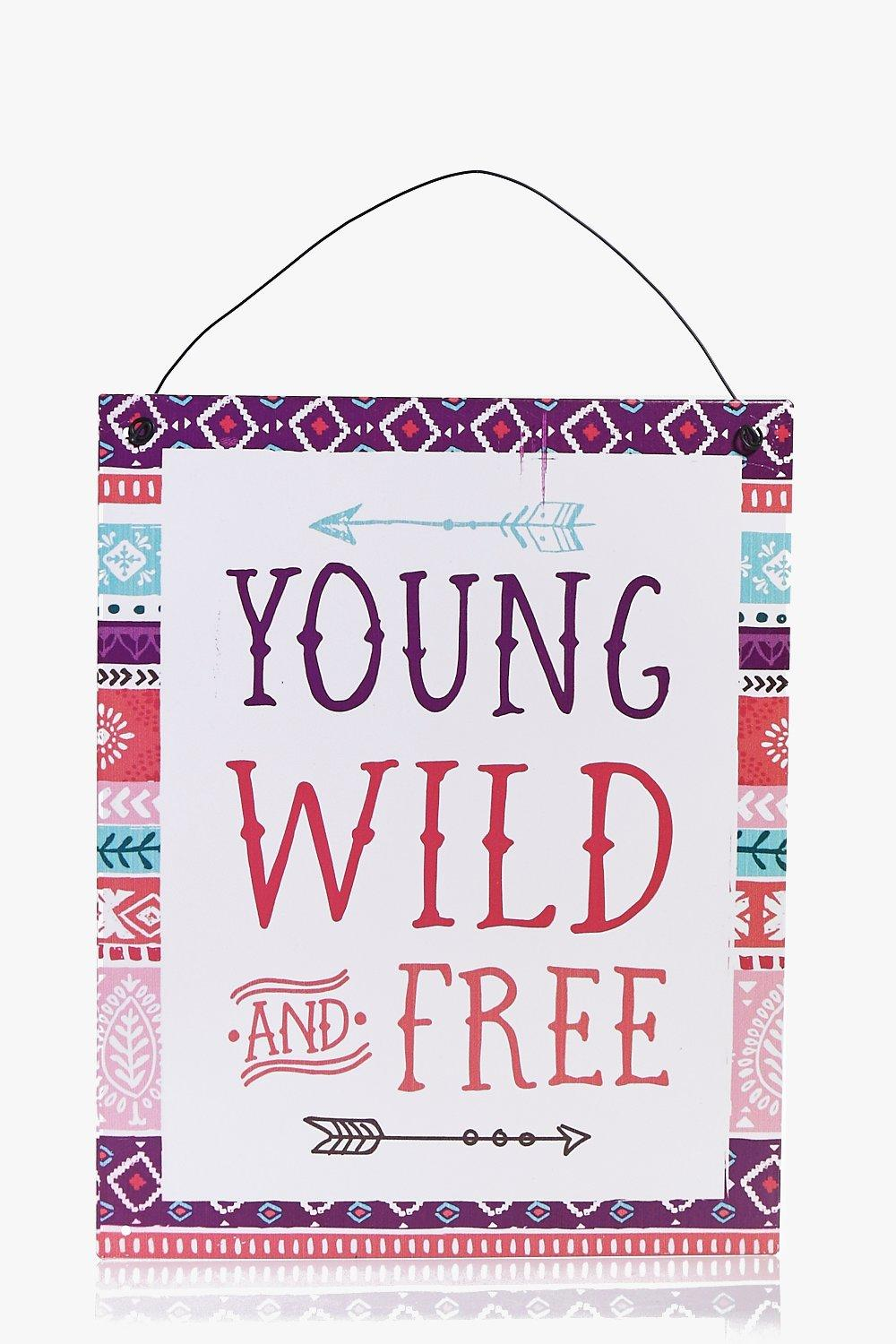 Young Wild & Free Wall Art