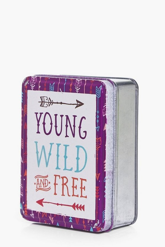 Young Wild & Free Trinket Tin