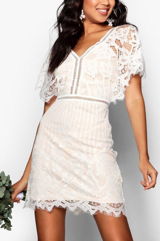 Boutique All Over Lace Bodycon Dress by Boohoo