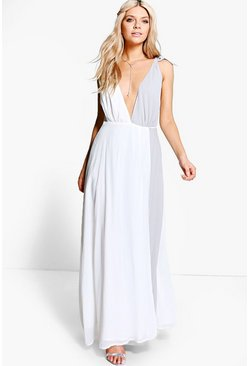Boutique Krissy Wrap Maxi Dress