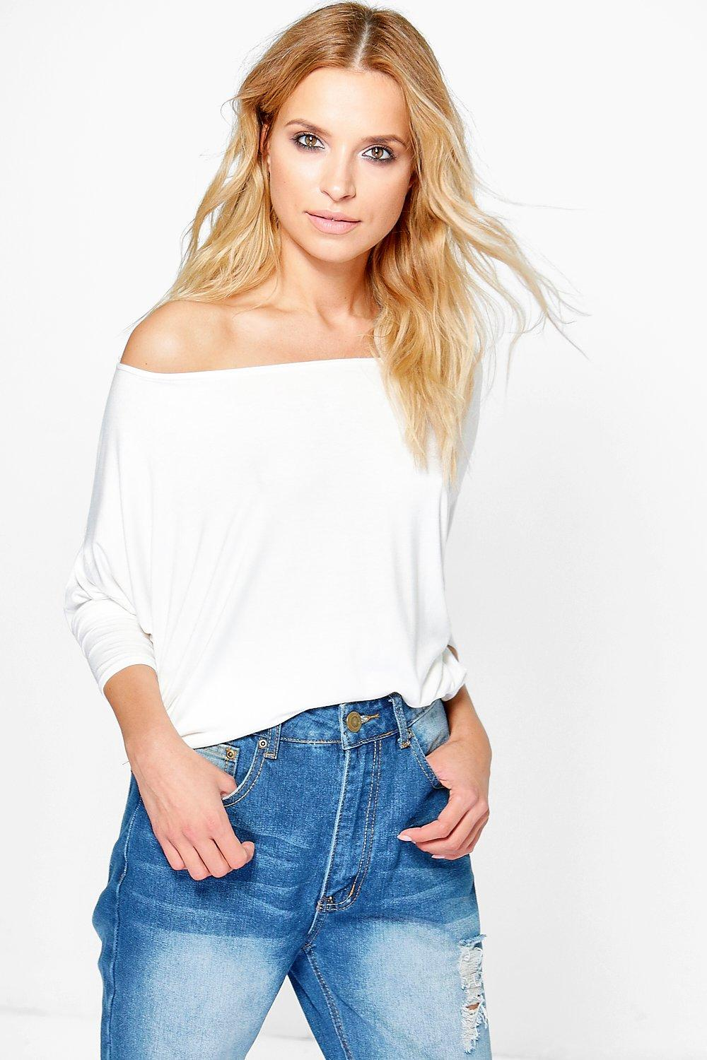 Orla Oversized Super Soft Jersey Top