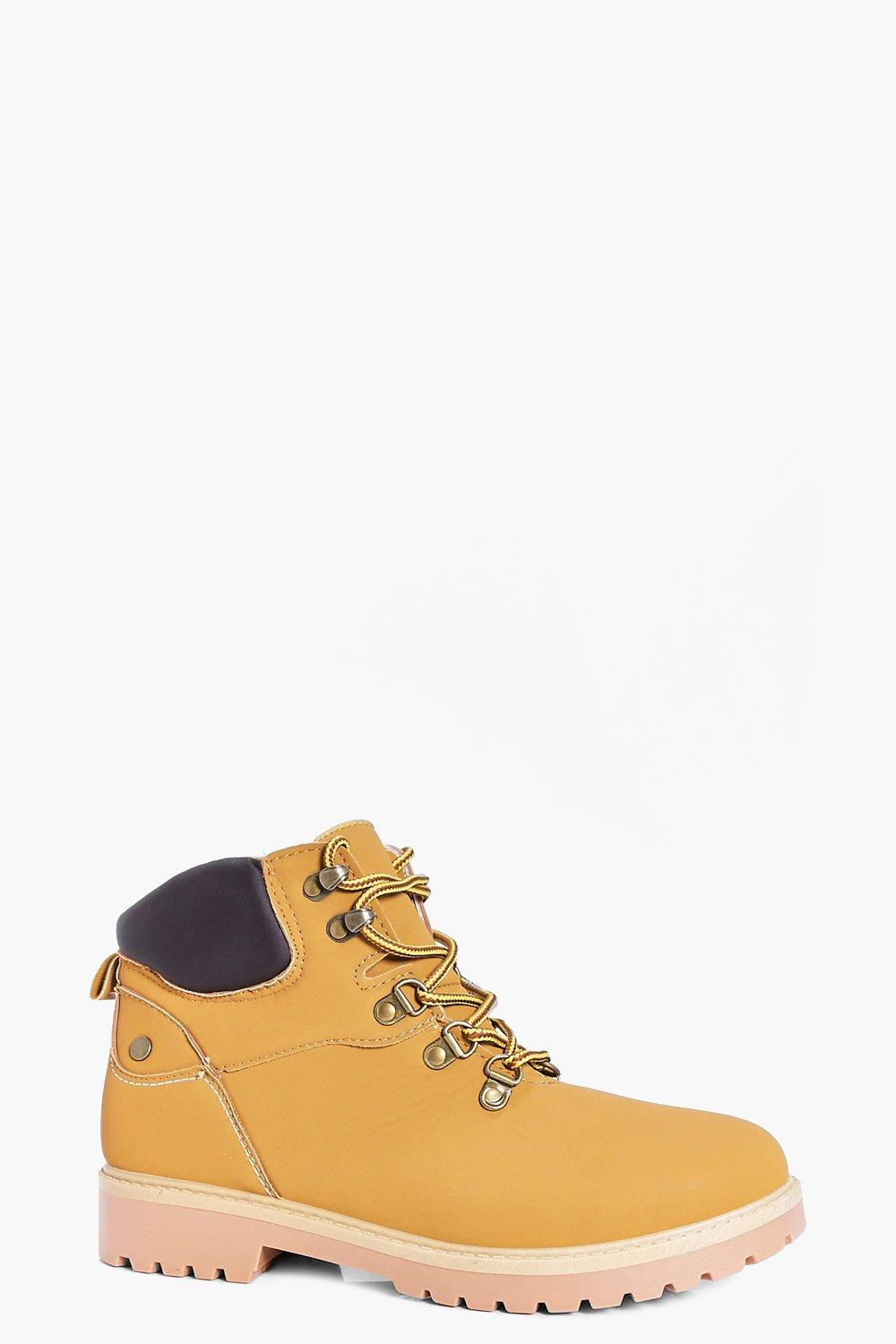 Julia Lace Up Hiker Boot