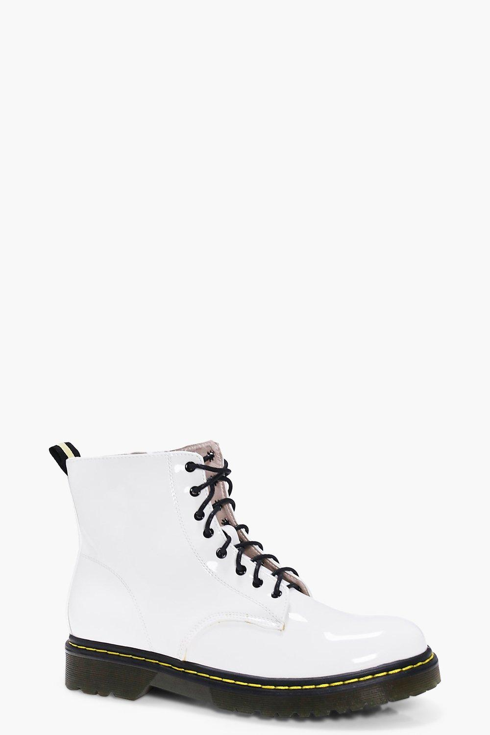 Heidi Lace Up Chunky Boot