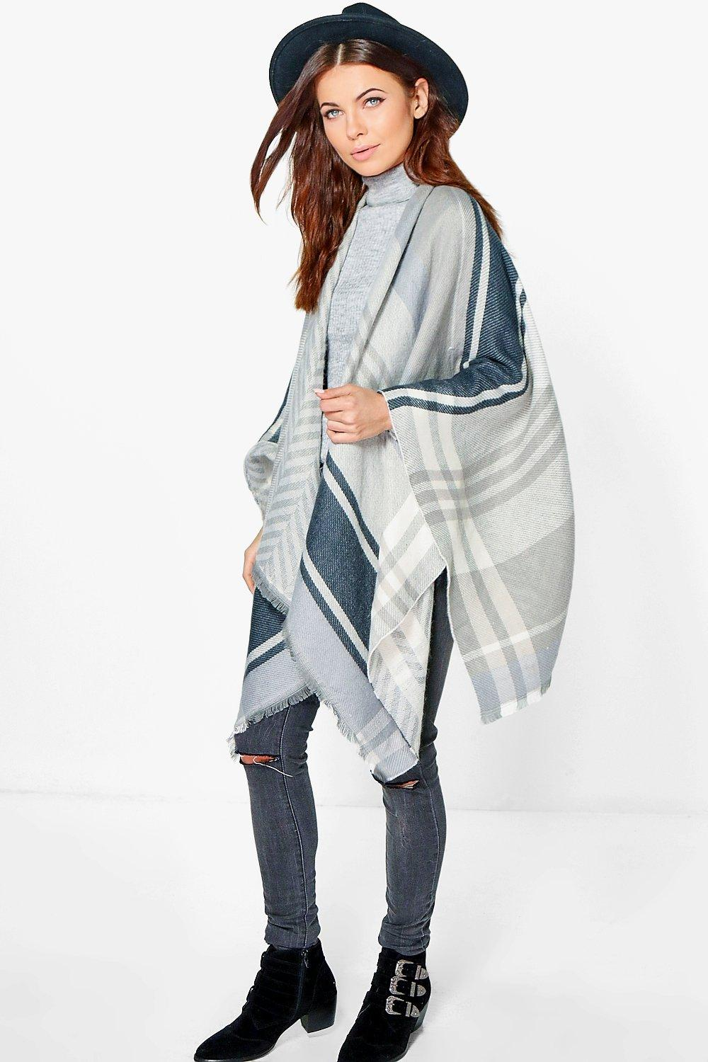 Ella Multi Stripe Cape