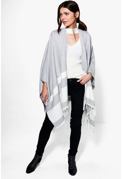 Isla Block Stripe Cape