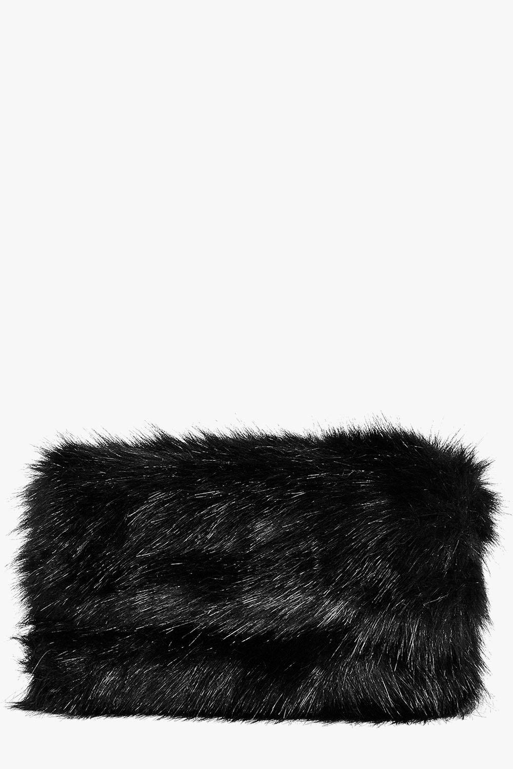 Emily Faux Fur Zip Top Cross Body Bag