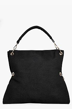 Grace Zip & Metal Detail Day Bag