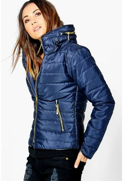Lucy Quilted Padded Jacket