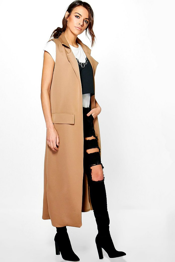 Jasmine Sleeveless Maxi Duster