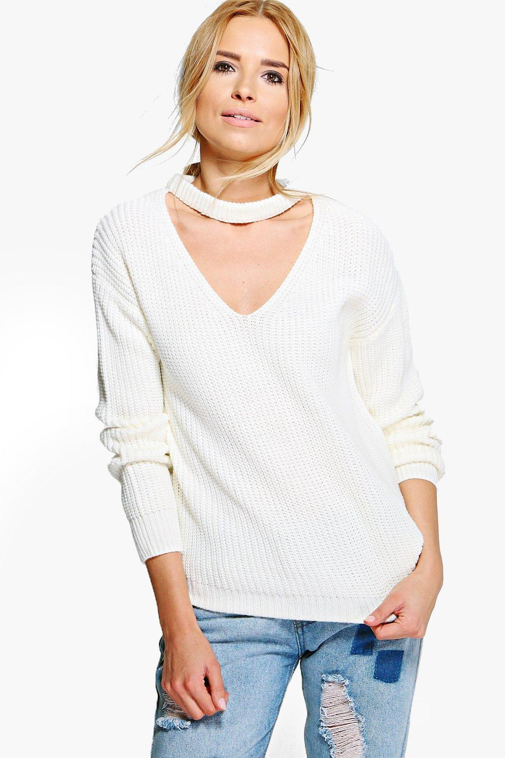 Beatrice Choker Fisherman Jumper
