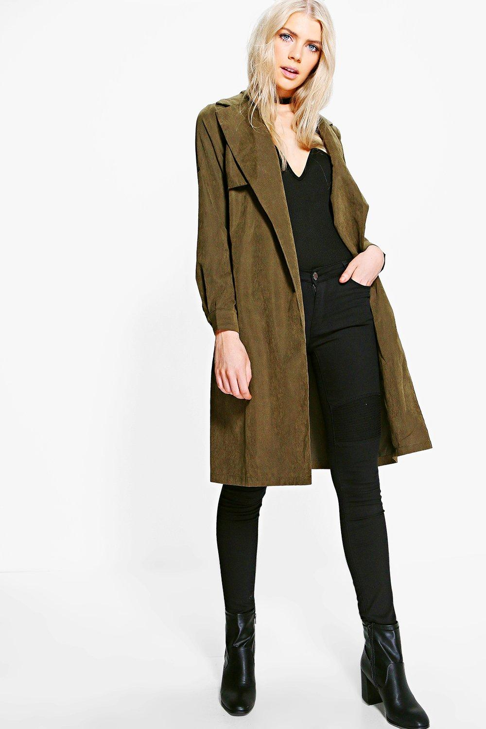 Annabelle Woven Trench