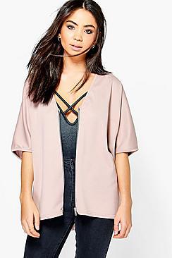 Alisha Slouchy Kimono With Zip