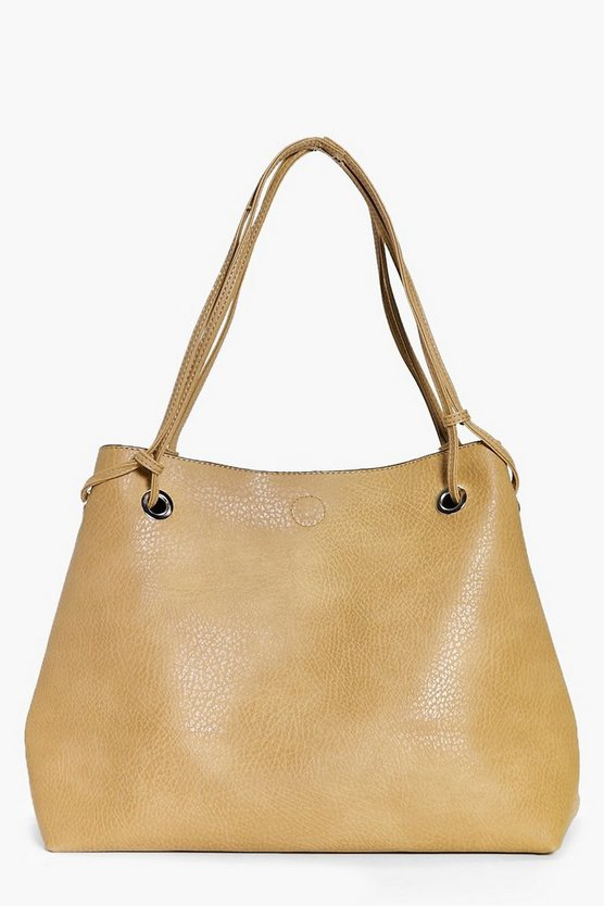 Ruby Eyelet Detail Shopper Day Bag