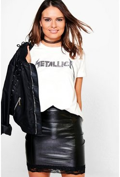 Martha Metallica Oversized Band T-Shirt