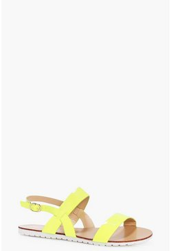Daisy Two Part Flat Sandal